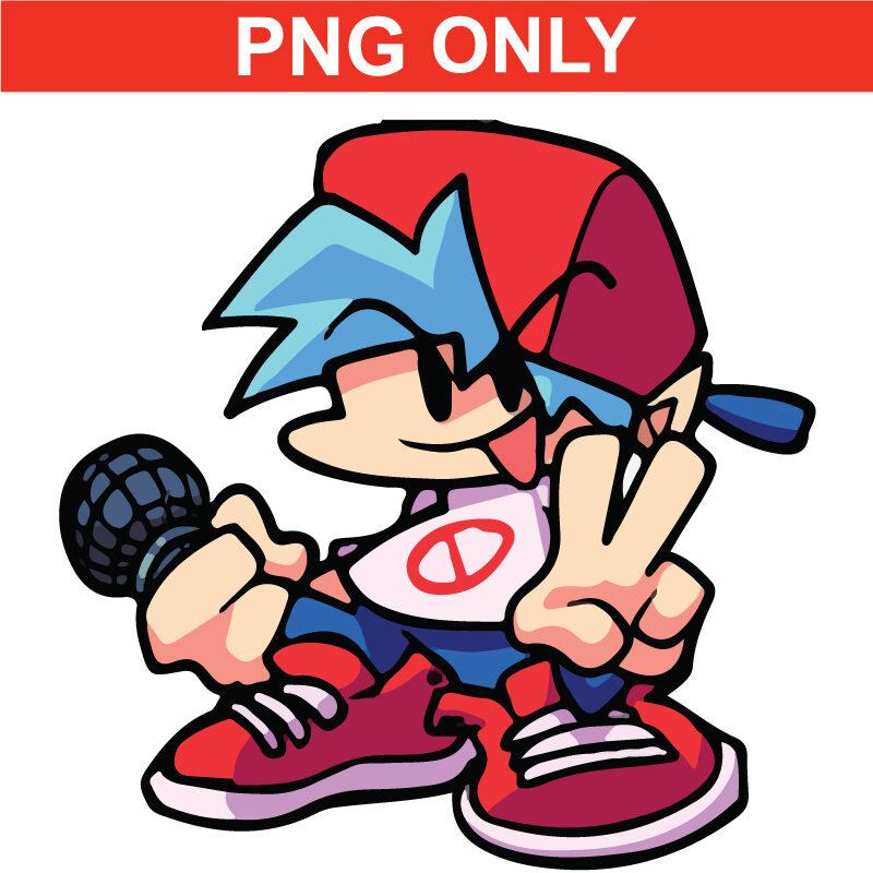 fridaynight funkin boyfriend PNG Download