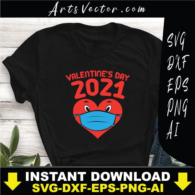 valentine's day 2021 bundle design