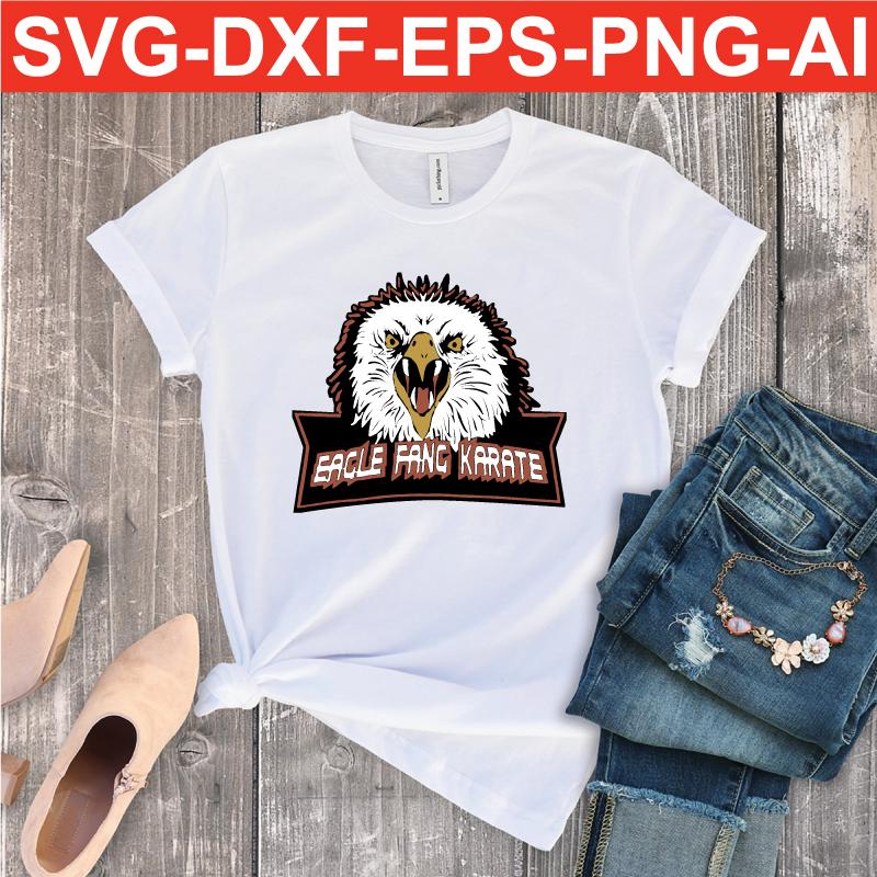 eagle fang karate logo PNG DXF EPS SVG AI