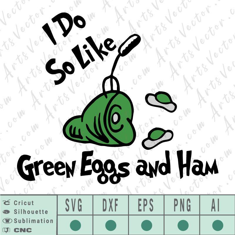 Green eggs and ham Dr seuss