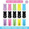 Peeps Marshmallow Bunnies SVG