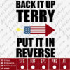Back it up terry SVG